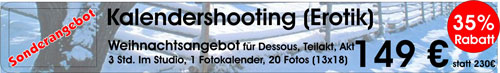 Weihnachtsspecial Erotik Shooting
